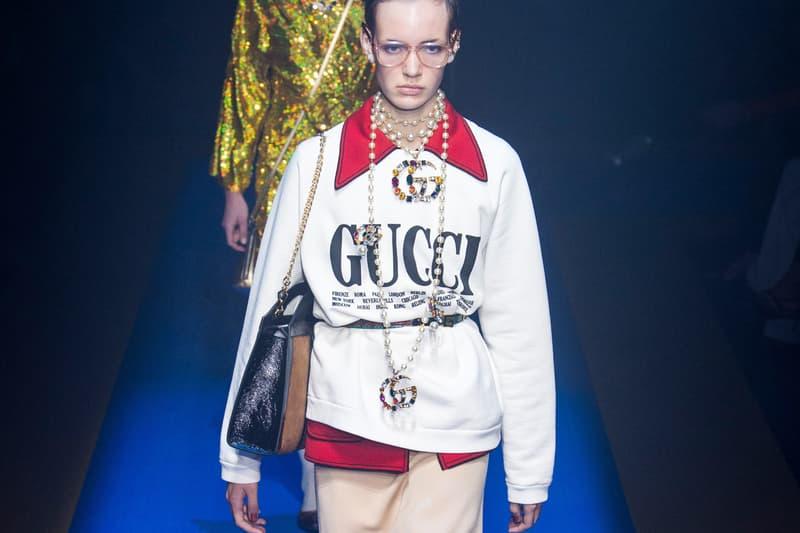 Livestream Gucci 2018 Fall Winter Show Milan Fashion Week