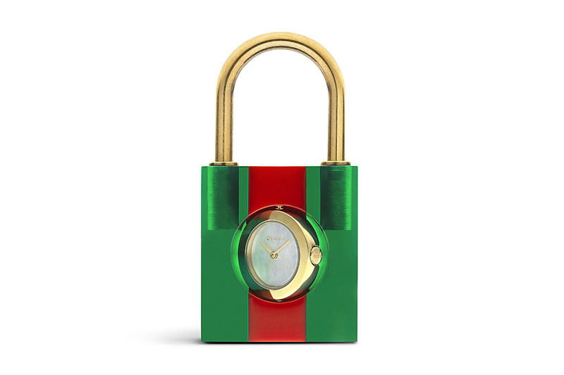 596eb4727fec Gucci Padlock With Clock Watch | HYPEBEAST