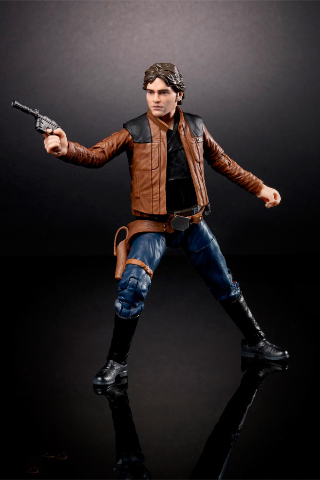 Hasbro Solo: A Star Wars Story Figures Lando Donald Glover Han Toy Fair 2018