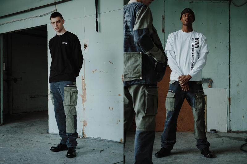 HAVEN NEIGHBORHOOD MIL-SAVAGE Collection Lookbook Editorial Release Info