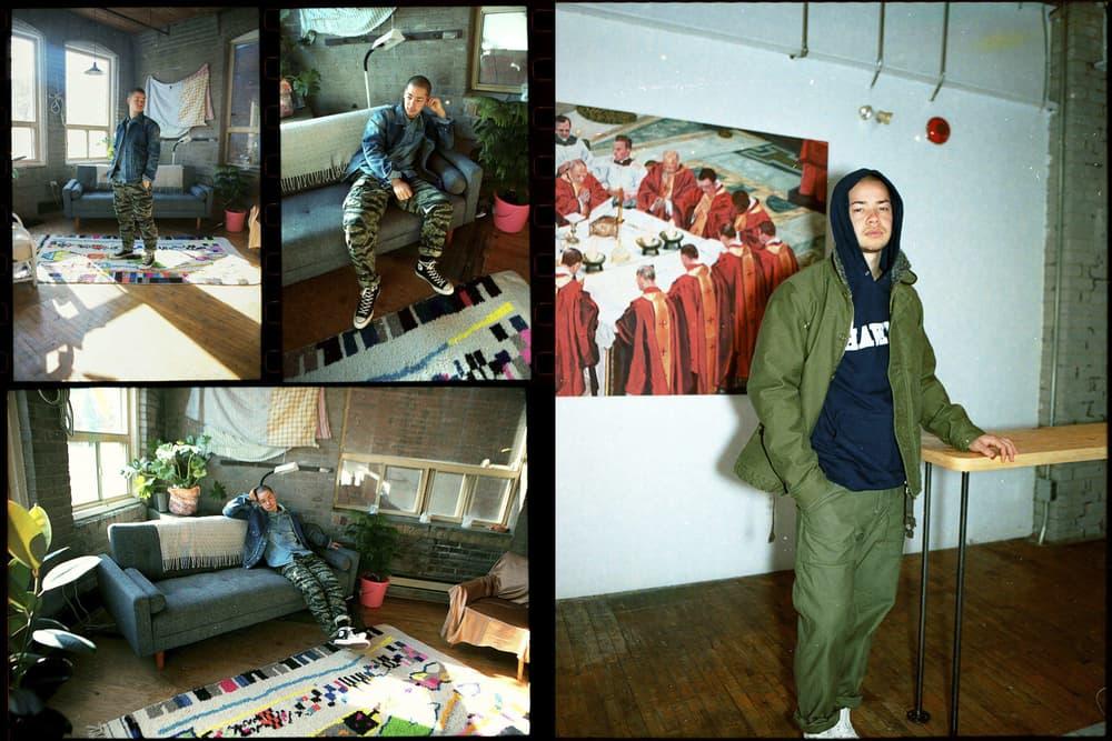 HAVEN Season 1 Collection Editorial military ma-1 jacket bdu cargo pants othello grey