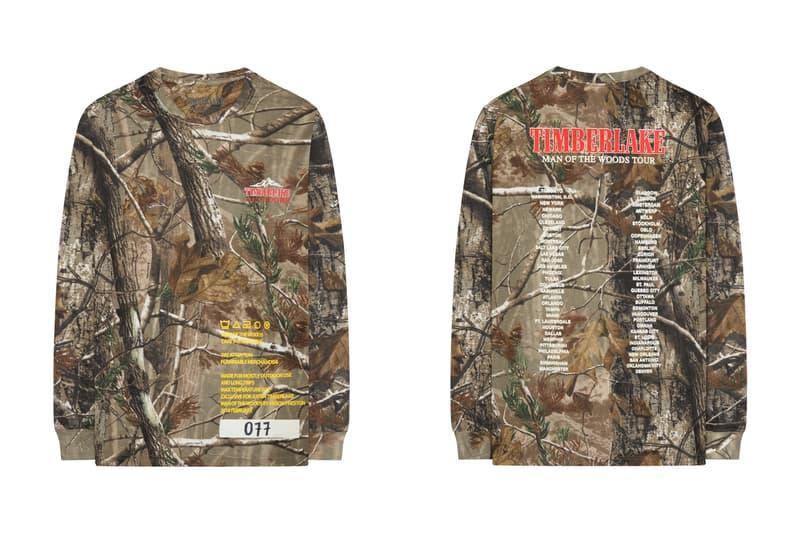 Heron Preston EV BRAVADO Man of The Woods Merchandise Justin Timberlake Fashion Apparel Clothing