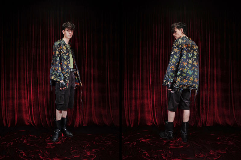 HOMME BOY Spring Summer 2018 LE2.23 Lookbook Jacket Pants T-Shirt Chain