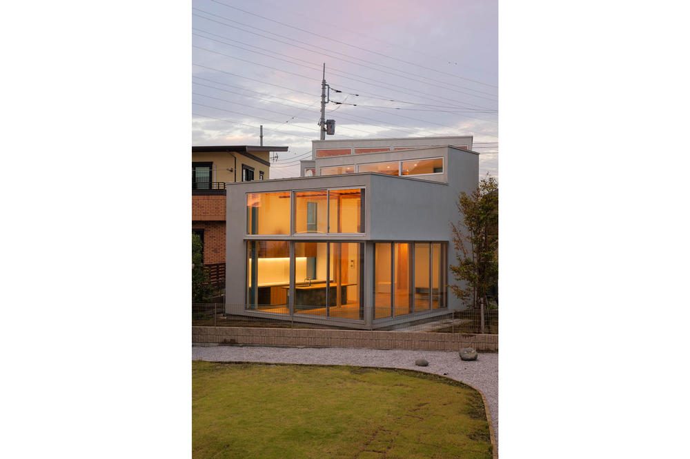 House K Shinta Hamada Architects Maebashi Japan LOW FAT structure Inc.