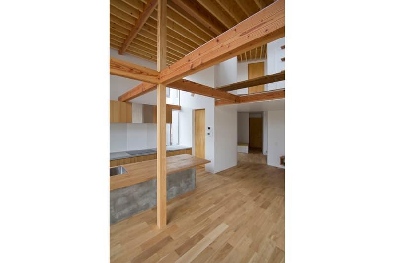 House K Shinta Hamada Architects Maebashi Japan LOW FAT structure Inc.