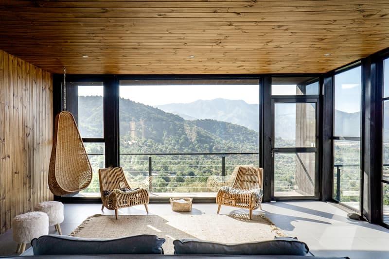 House MV Cristian Alvarado Espinoza Chile Homes Architecture Sleek Modernized Interior Design Swimming Pool Mountains Hills
