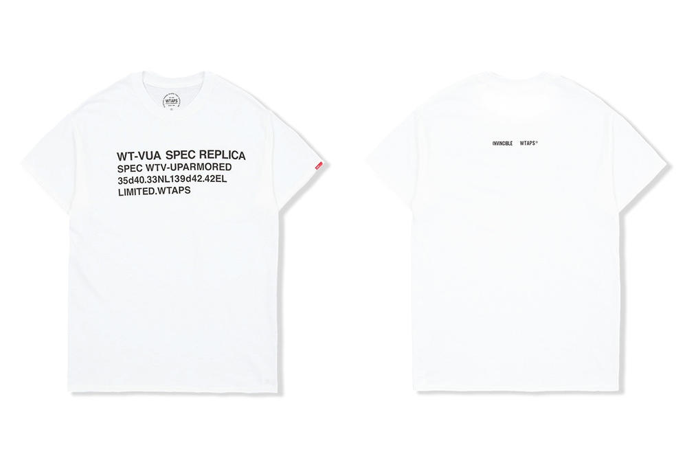 INVINCIBLE WTAPS Collaboration book signing 2018 february release date info t shirts tees taiwan