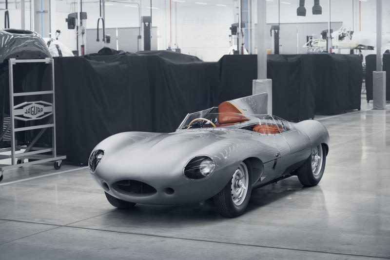 Jaguar D-Type Le Mans Production Automotive Supercar Production Rare Classic Cars