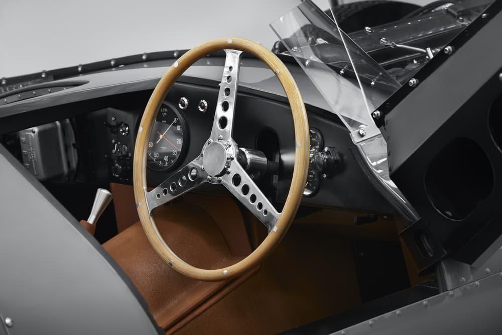 Jaguar D-Type Le Mans Production Automotive Supercar Production Rare Classic Cars