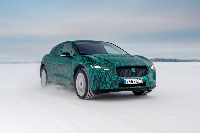 Jaguar I-Pace Electric SUV Cars Automobiles March 2018