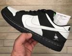 "Jeff Staple Shows Off Nike SB Dunk Low ""Black Pigeon"" Samples"