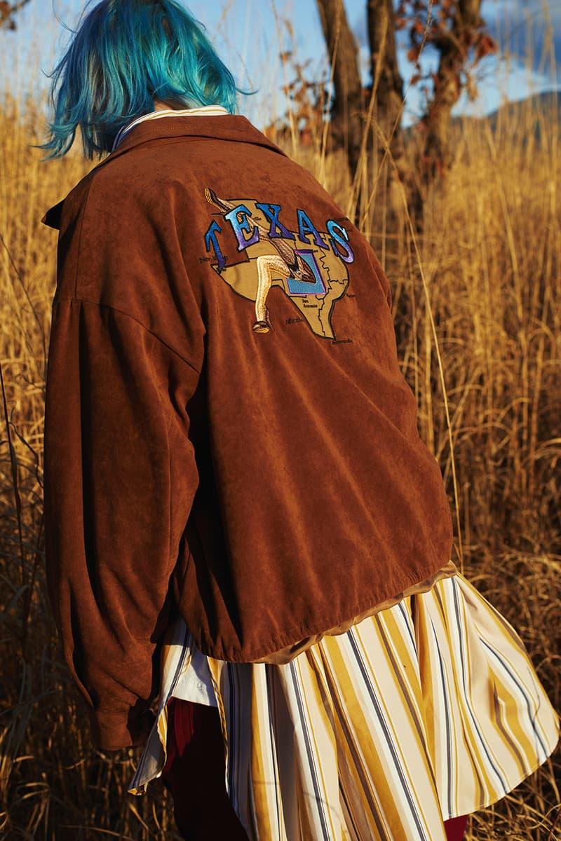 JIEDA 2018 Fall Winter collection lookbook japan kikunobu paris texas
