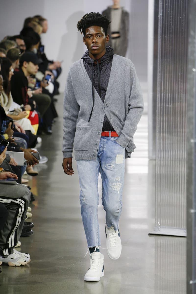 John Elliot 2018 Fall Winter Runway Collection Nike Air Monarch Humara dr martens New York Fashion Week Mens 2018 February NYFW