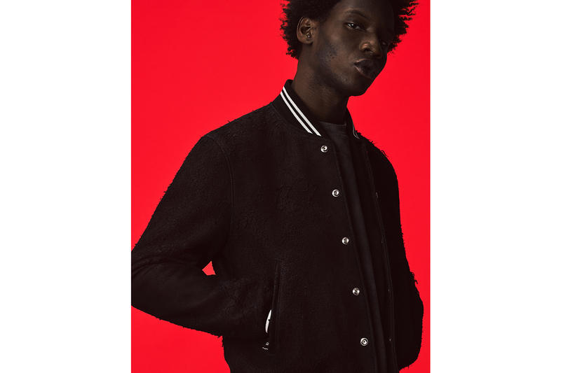 John Elliott Blackmeans Spring Summer 2018 Collection Rider Jacket Stadium Jacket