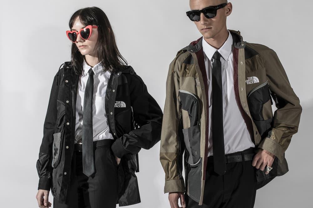 Junya Watanabe MAN Spring Summer 2018 Editorial First Delivery Drop blends