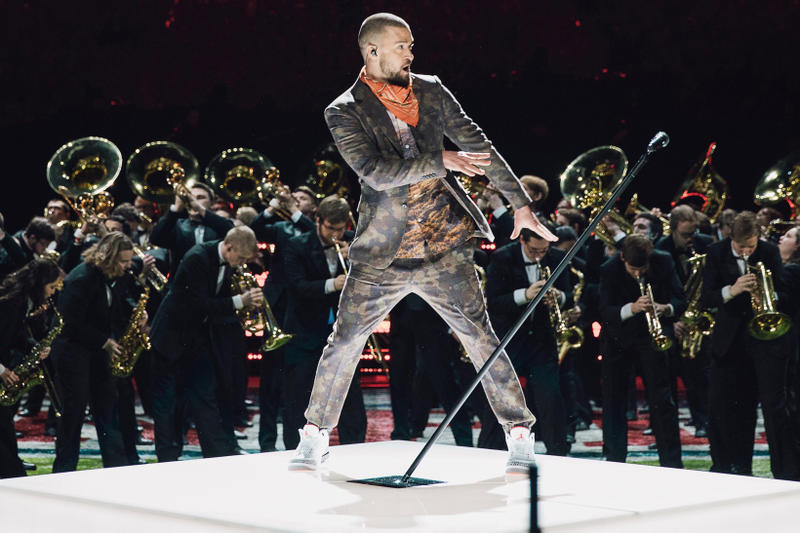 Justin Timberland Nike Jordan Brand Super Bowl 2018 LII halftime show prince tinker hatfield Air Jordan 3 Retro JTH 2 million usd