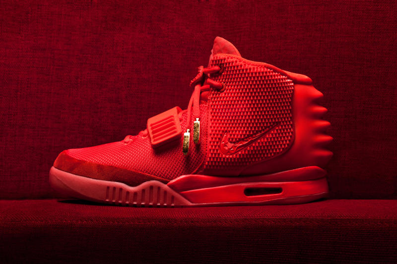 b5f377617b6 Kanye West Red October Trademark application 2018 february nike air yeezy 2