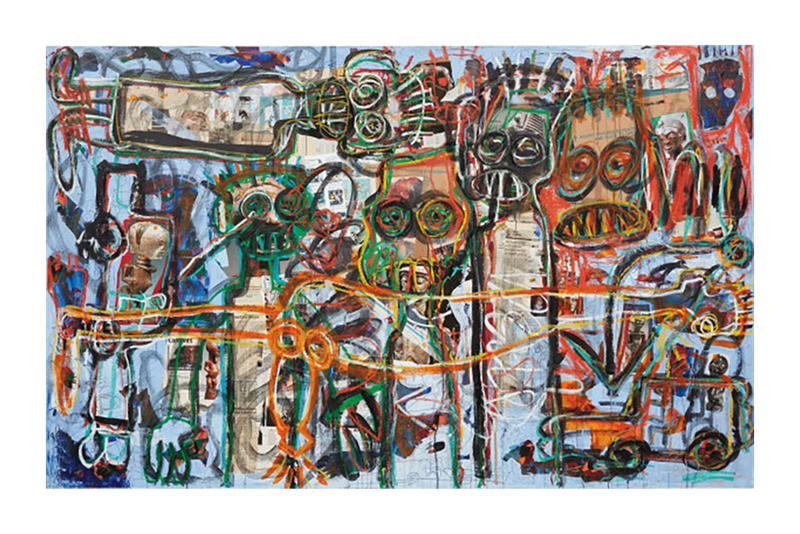 KAWS Andy Warhol Basquiat PHILLIPS New York Auction julian schnabel 2018 february keith haring george condo