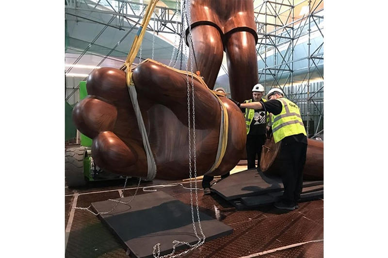 KAWS SMALL LIE Companion Qatar Museums Hamad International Airport Sculptures Installations Art Artworks