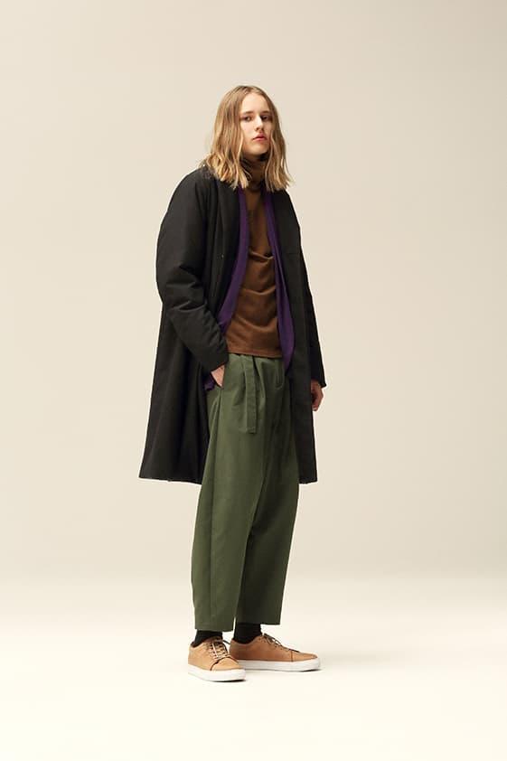 Kazuyuki Kumagai 2018 Fall Winter Lookbook collection attachment japan