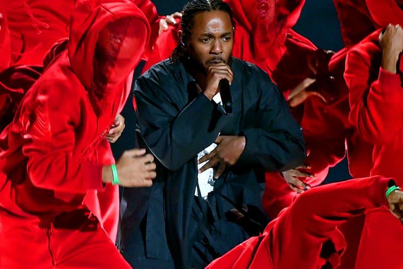 Kendrick Lamar Grammys Performance