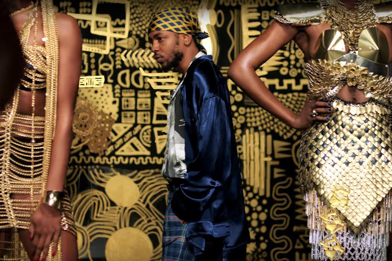 Kendrick Lamar All the Stars Video Stolen Artwork Lina Iris Viktor