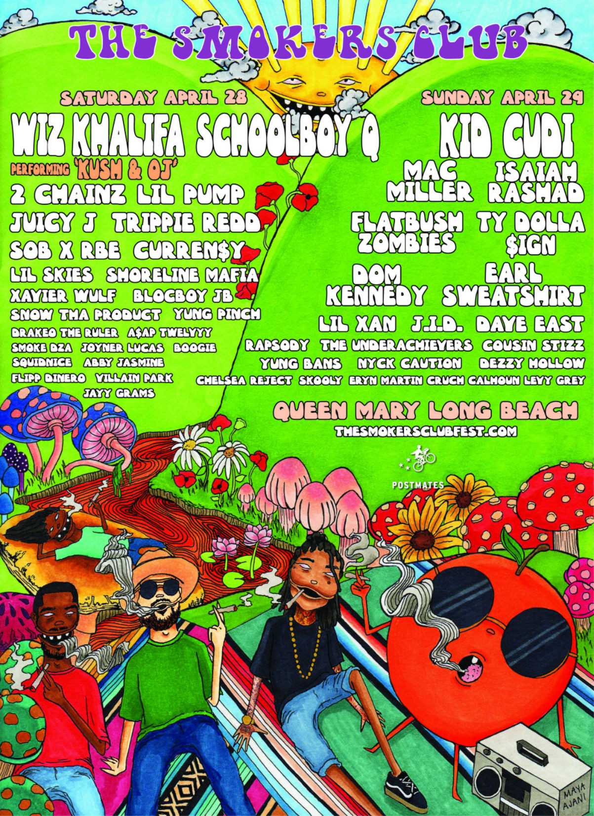 Kid Cudi Wiz Khalifa SchoolBoy Q Headliners 2018 Smokers Club Tour Album Leak Single Music Video EP Mixtape Download Stream Discography 2018 Live Show Performance Tour Dates Album Review Tracklist Remix