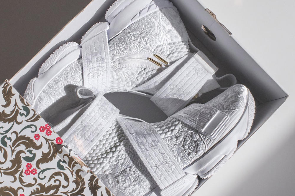KITH Nike LeBron 15 City of Angels Teaser ronnie fieg james los angeles all star game 2018 february white release date info sneakers shoes footwear