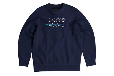 "KNOW WAVE Keeps It Simple with New ""Over Under"" Crewneck"