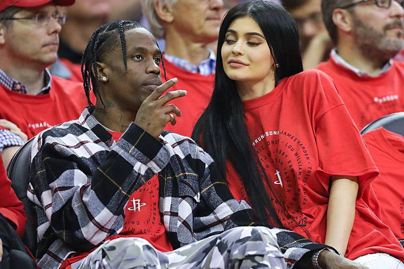 Kylie Jenner Travis Scott Air Jordan 4