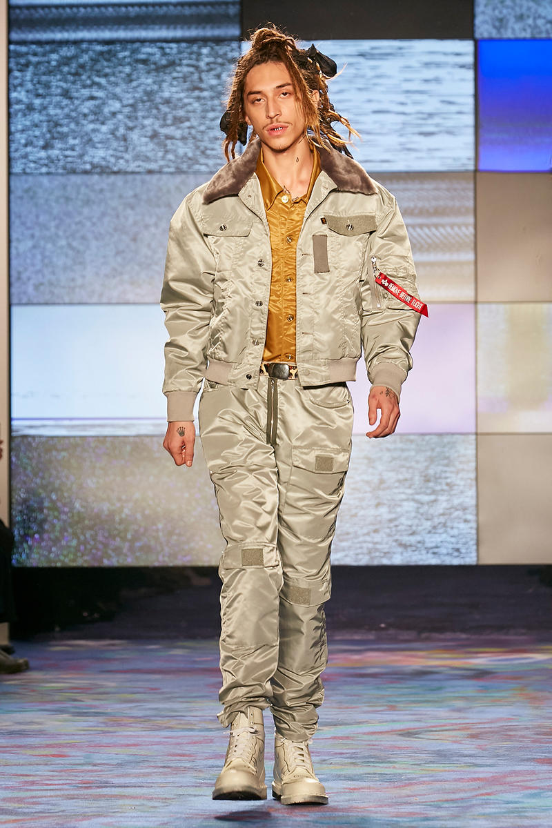 Landlord 2018 Fall Winter collection runway show new york fashion week mens