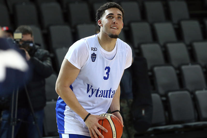 LiAngelo Ball Signature Sneaker Big Baller Brand Basketball Prienu Vytautas Lavar Ball Lonzo Ball Lamelo ball