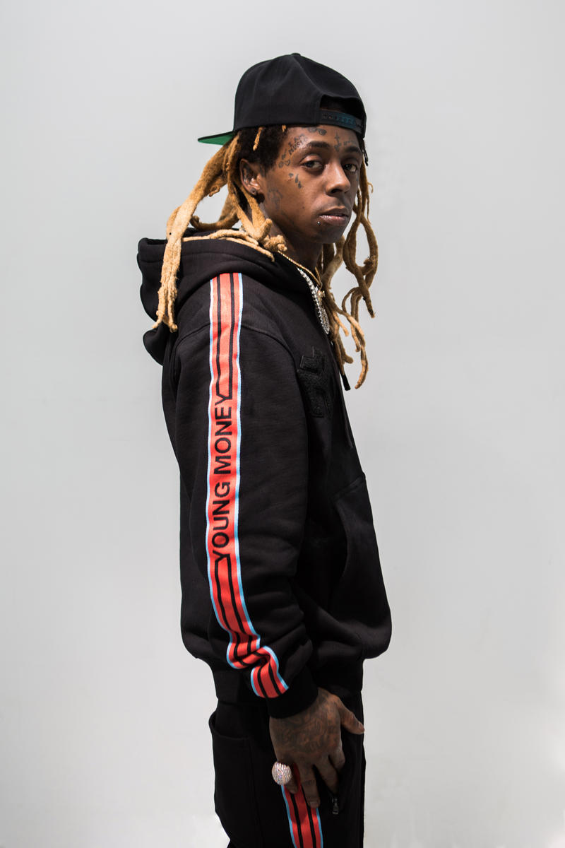 Lil Wayne Young Money Clothing Capsule Collaboration Neiman Marcus Beverly Hills Los Angeles California All Star Weekend LA NBA Weezy 2018 february 16
