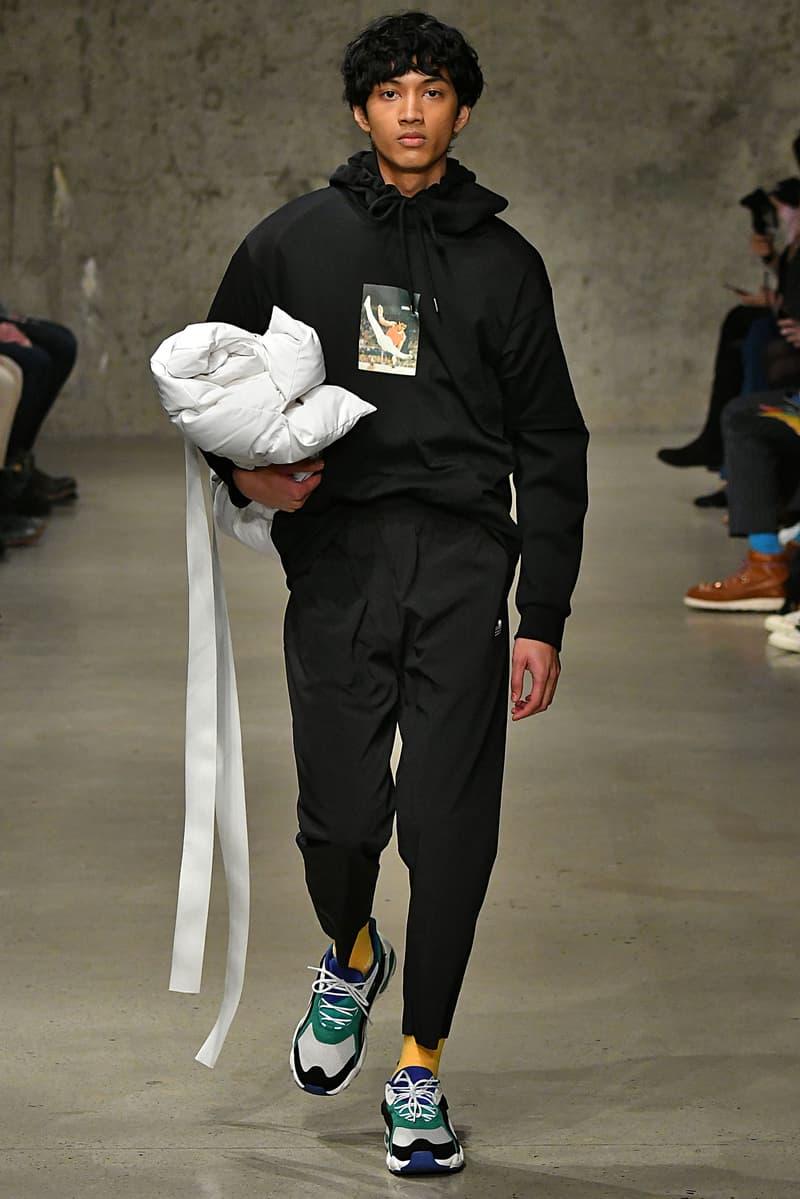 Li Ning New York Menswear Fall Winter 2018-1019 NYC February 2018