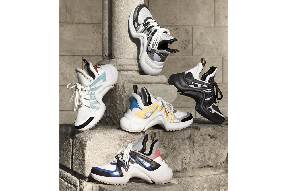 Louis Vuitton Spring Summer 2018 Archlight sneaker february release date info shoes footwear