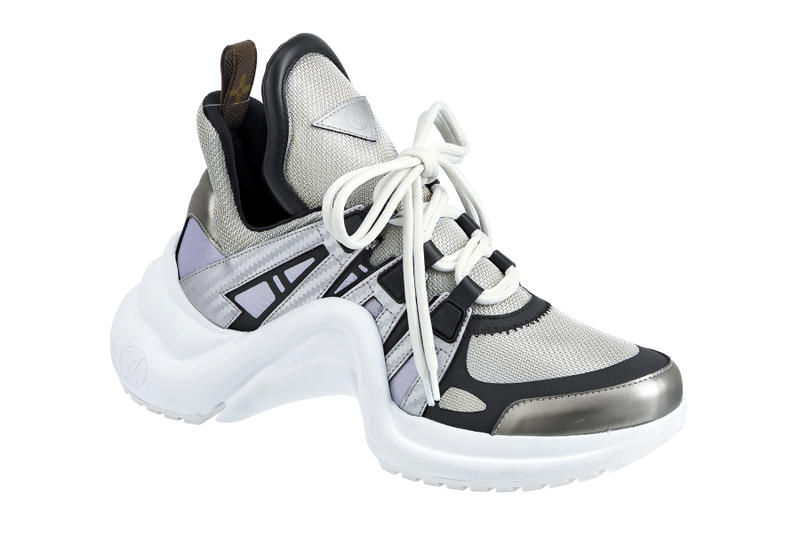 51e22c98cb6 Louis Vuitton Archlight Sneaker Spring Summer 2018 Closer Look Monogram