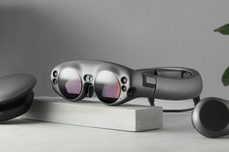 Magic Leap NBA Shaquille O'Neal Augmented Reality Goggles Streaming Service