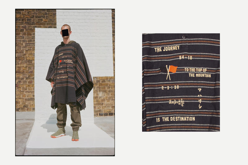 maharishi 2018 Spring Summer Lookbook collection february release date info london