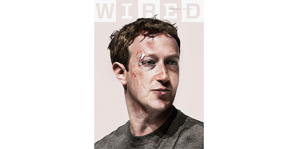 Mark Zuckerberg\'s Beaten \'WIRED\' Cover Explained | HYPEBEAST