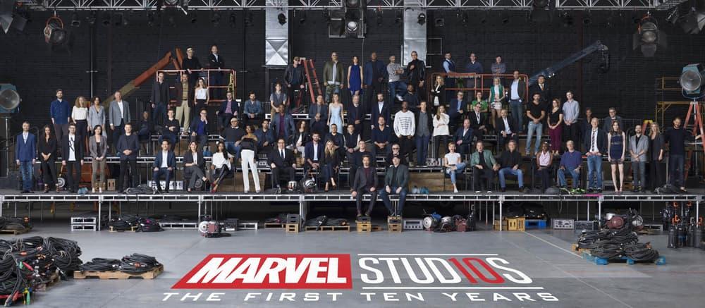 Marvel Cinematic Universe 10 Year Anniversary Class Photo