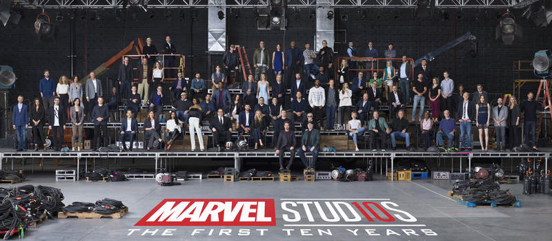 Marvel Cinematic Universe 10 Year Anniversary Class Photo