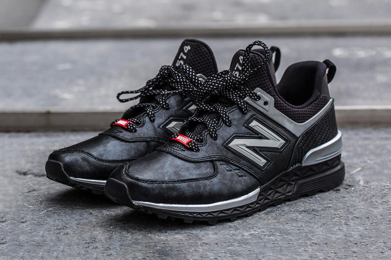 Marvel New Balance 574 Sport 990v4 Black Panther Jimmy Jazz