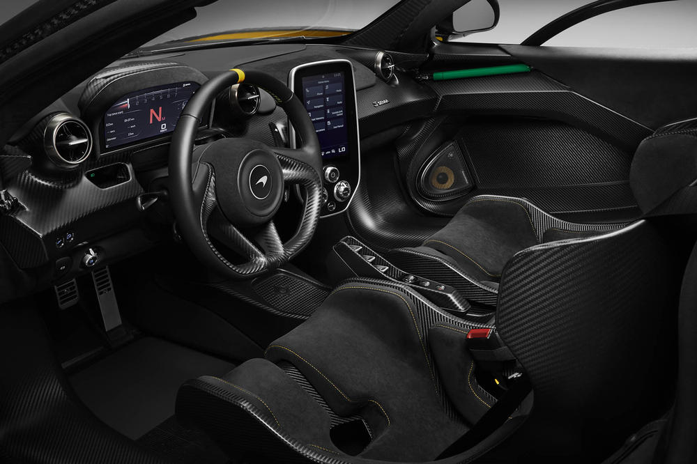 McLaren Special Operations Senna Carbon Fiber special edition
