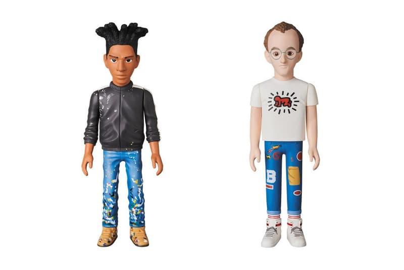 Medicom TOY VCD Keith Haring Jean-Michel Basquiat Andy Warhol Kaws Mika Ninagawa