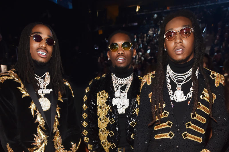 Migos The Beatles Simultaneous Billboard 100 Entries Record