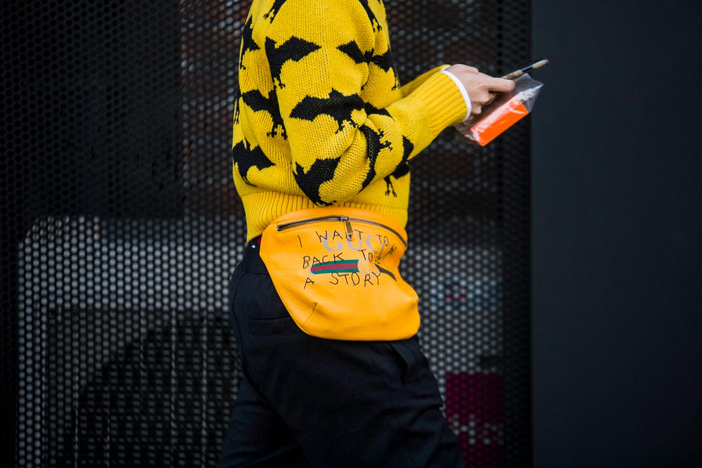 Milan Fashion Week Fall Winter 2018 Street Style Day 1 best men's women's streetsnaps sneakers