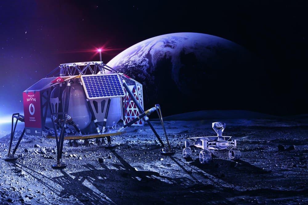 Moon 4G Network 2019 Vodafone Nokia Elon Musk SpaceX Tesla Audi Lunar Rover PTScientists
