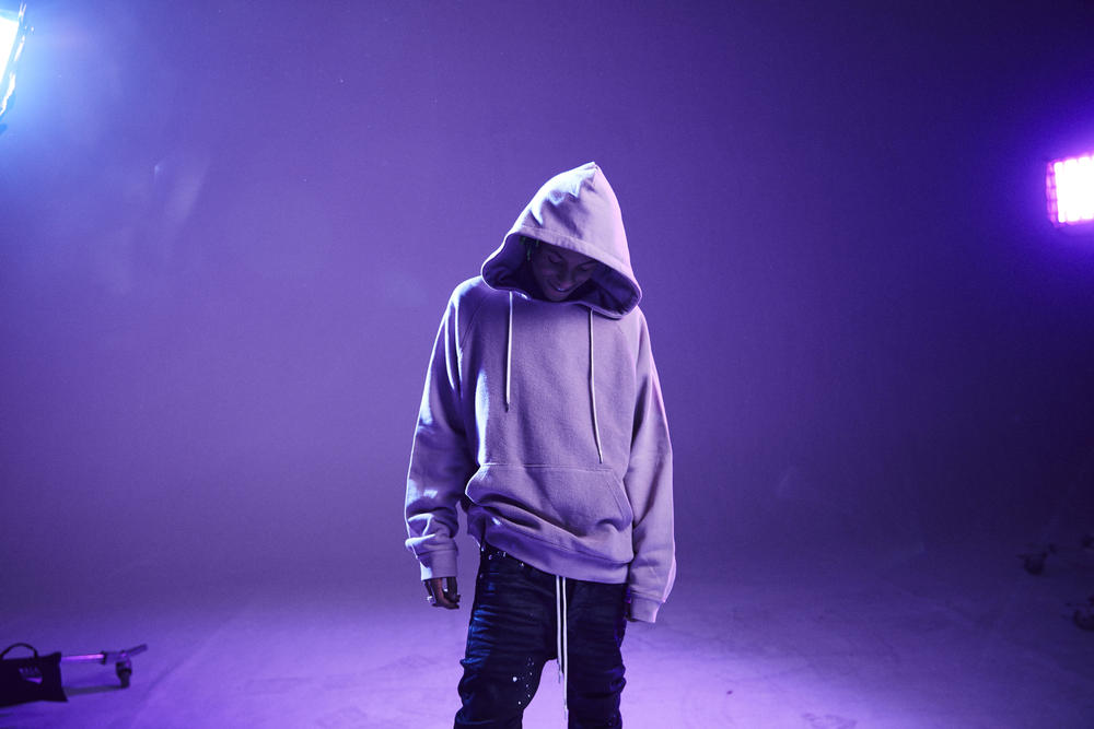 Mr. Completely PacSun Exclusive MRCLA Capsule Los Angeles Anger cut and sewn