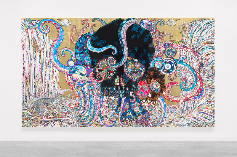 Takashi Murakami Vancouver Art Gallery Showcase 'The Octopus Eats Its Own Leg' arts