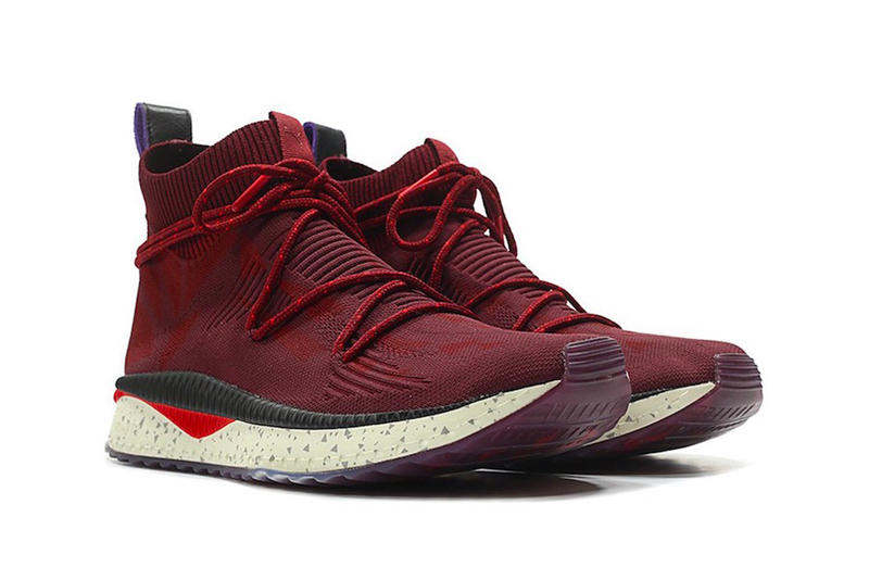 Naturel PUMA Tsugi EvoKnit Sock Bordeaux Release